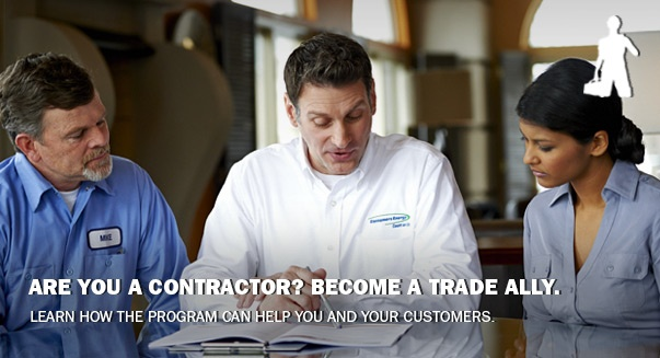 Are you a contractor? Become a trade ally.